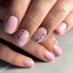 55 Wedding Nail Designs for Your These trendy Nails ideas would gain you amazing compliments. Check out our gallery for more ideas these are trendy this year. Nail Art Cute, Cute Nail Colors, Nail Polish Colors, Neutral Nails, Nude Nails, Nail Manicure, My Nails, Minimalist Nails, Stylish Nails