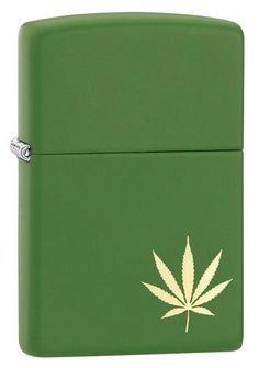 Say hello to a design from Zippo's 2017 summer collection. This model features a simple design on the front surface of a classic green matte lighter. Laser Engrave Imprint Method Green Matte Finish Classic Case Lifetime guarantee that