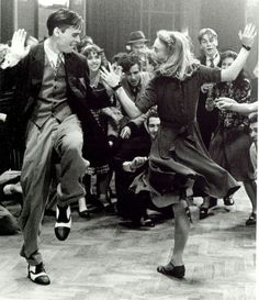 "Image result for swing dance party  From movie ""Swing Kids"""