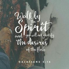 Bible App Verse of the Day 1/23/16 | I really needed the whole chapter of Galatians 5 today, and God put it right in my path even when I didn't KNOW what I needed... Even if you don't often read the bible, would you at least read Galatians 5 today? It's very encouraging.