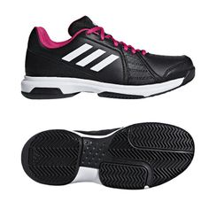 hot sale online 491d0 efa6f adidas Aspire Unisex Tennis Shoes for All Court Black Racket Racquet NWT  BB8081  adidas Rackets