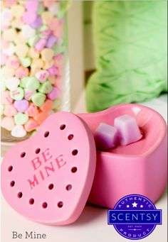 Scentsy January 2016 Warmer of the Month! #Scentsy #WOTM #BeMine