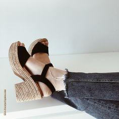 9fece705 9 mejores imágenes de cuñas de verano   Wedge sandals, Wedges y Wide ...