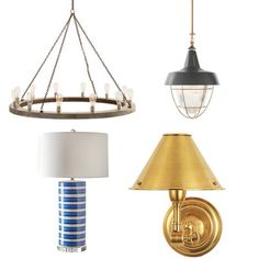 Nautical Lighting is a great way to inject a little Lowcountry style into your home! Coastal Style, Coastal Decor, Coastal Living, Beach House Furniture, Beautiful Beach Houses, Nautical Lighting, Country Chic Cottage, Nautical Home, Nautical Style
