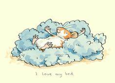 I love by Bed ~ Anita Jeram Illustration Illustration Mignonne, Children's Book Illustration, Animal Drawings, Cute Drawings, Lapin Art, Anita Jeram, Art Mignon, Bunny Art, Cute Mouse