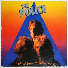 3rd studio album on vinyl from Sting and The Police. #newwave