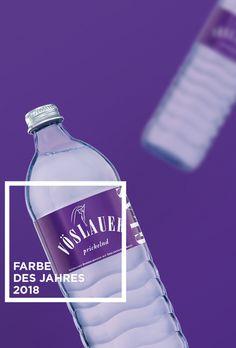 Pantone kührte die Farbe des Jahres 2018: Lila - Wir haben es schon immer gewusst ;) #pantone #farbedesjahres #lila #pantone2018 Pantone, Vodka Bottle, Drinks, Design, Lilac, Color Of The Year, Knowledge, Colors, Art