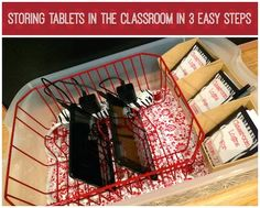 New technology in the classroom is always super exciting for the teachers who get the joy of adopting new materials! This is often short-lived when the educator realizes how much planning will be devoted to not only incorporating the devices into the curriculum effectively, but also topics come up such as behavior management, care of the unit...