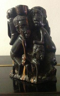 African Art, Ebony statue