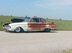 1960 Falcon drag car