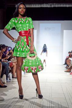 african fashion week   Ill La La Designs at Africa Fashion Week in New York AFWNY 2012 (9)