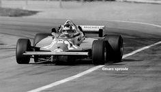 Gilles Villeneuve. Ferrari 1981