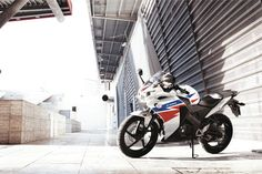 Honda CBR125 Tri-colour from Kestrel Honda