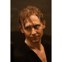 tom hiddleston, wet ❤ liked on Polyvore featuring tom hiddleston, tom, avengers, boys and hiddleston