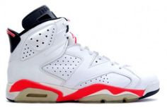 Cheap Nike Air Jordan 6 Retro bulls Original (OG) White / Infared shoes discount price colorways shop.welcome to Air jordan 3 fire red store to place your order now at low price with high quality free shipping