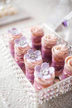 A Soft Cream and Lavender Spring Wedding.