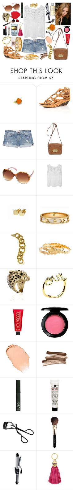 """""""08-19-11"""" by belledenuit ❤ liked on Polyvore featuring Pippa Small, J Brand, Mulberry, Topshop, Versus, 3.1 Phillip Lim, Jennifer Meyer Jewelry, House of Harlow 1960, Kenneth Jay Lane and Melinda Maria"""