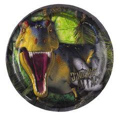 Ver detalles de Platos dinosaurio jurásico (8)