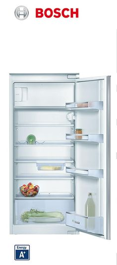 Réfrigérateur intégrable | Charnières à glissières | Volume net partie surgélateur : 17L | Volume net partie réfrigérateur : 183L