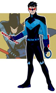 20f6fb4500e38 Nightwing redux by onecoyote on DeviantArt All Robins