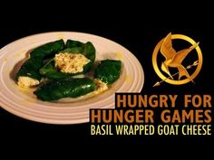 Prim's basil Wrapped goat cheese.