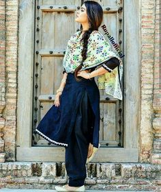 Punjabi Suit #attitude #suitsalwar #punjabi #newdesigns #looks✌ For More Follow Pinterest : @reeetk516