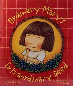 ordinary mary's extraordinary deed - awesome book about giving back
