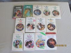 SANDRA FIELD– HARLEQUIN ROMANCES BOOK - LOT OF 14 PAPERBACK BOOKS–Combine Ship