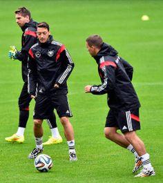 Mesut Ozil and Lukas Podolski - Germany National Team