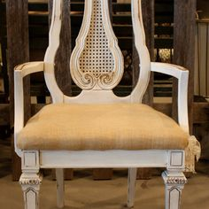 White Shabby Chic Chair