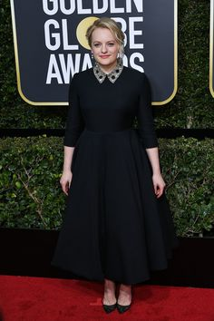 Elizabeth Moss, Golden Globes 2018