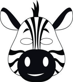 These Jungle Masks are perfect for at home play or for your VBS Jungle themed adventures. The masks are provided in both black and white and color for the kids: