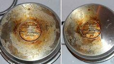 Старая сковорода стала как новенькая!