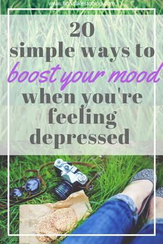 How to boost your mood when you're feeling depressed and create a self-care routine that will manage the symptoms.