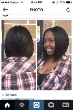 Bob haircut for black women, Passion Hair Designs, Queens NY