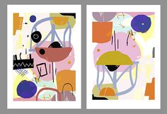 Kristin Berg Johnsen: Abstract interiors