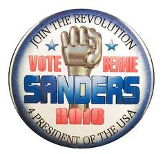 Pack-20-Vote-Bernie-Sanders-Join-the-Revolution-2-25-inch-pinback-buttons, mailled fast for only $15 on ebay