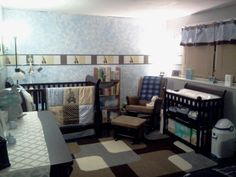 Our baby Julian's nursery! Theme: lambs and ivy - Jake