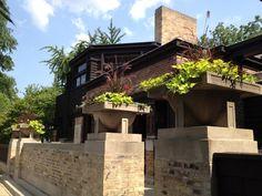 Frank Lloyd Wright Home and Studio in Oak Park, IL; #Eastern
