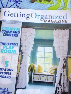 Friday Favorites:  Fantastic organizing links plus my favorite of the week --> Getting Organized Magazine!