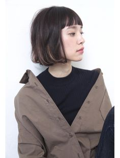 Pin on 髪型 Medium Hair Cuts, Short Hair Cuts, Short Hair Styles, Mens Hairstyles Pompadour, Bob Hairstyles, Hair Arrange, Hair Again, Trendy Haircuts, Dye My Hair