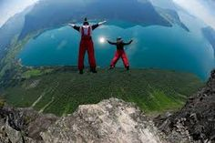 ,,A wingsuit BASE jumper just live-streamed his own death—marking the latest fatality in the sport's deadliest year. '' Maybe this type of adventure tourism shouldn't be on your to do list. Bungee Jumping, Base Jumping, Sky Surfing, Cliff Diving, Ice Climbing, Canoe Trip, Above The Clouds, Paragliding, Skydiving