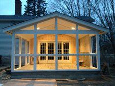 Bluestone & Beadboard Screened Porch