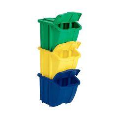 3 Piece Landers Recycling Bin Set