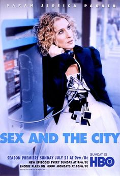 Sex and the City... Still love the show and all the movies. Guilty pleasure!