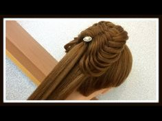 2 Strand Swag Woven Braid Pony Tail Hairstyle / Hair Tutorial / HairGlamour - YouTube