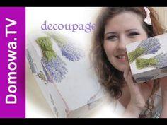 jak zrobić skrzynkę decoupage