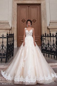 Vestito da Casamento estilo princesda - Wedding Dress
