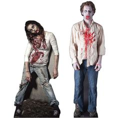Living Dead Standup Posters - The Zombie Lifesize Standup Posters Look Like the Walking Dead (GALLERY)