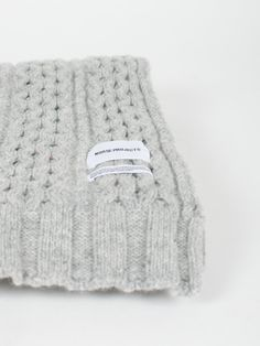 NORSE PROJECTSWOOL CABLE SCARF